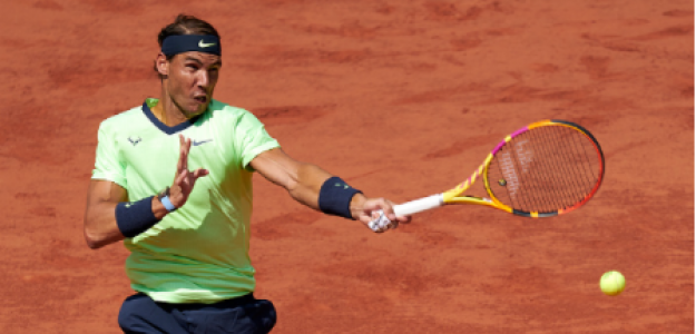 Rafael Nadal gana a Diego Schwartzman en Roland Garros 2021. Foto: gettyimages