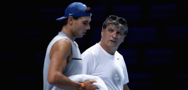 Rafael Nadal y Toni Nadal. Foto: zimbio