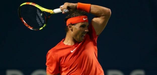 Rafael Nadal en Toronto. Foto: Getty Images
