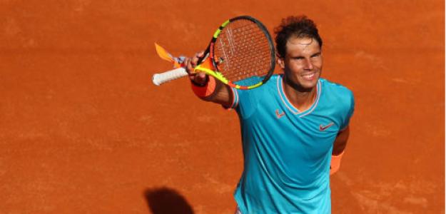 Rafael Nadal y trayectoria histórica en Roma. Foto: gettyimages