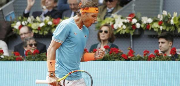 Rafael Nadal, semifinales Mutua Madrid Open 2019. Foto: zimbio