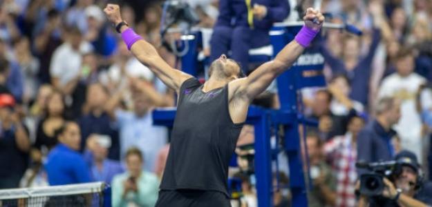 Nadal sigue mostrando un gran nivel de tenis. Foto: Getty