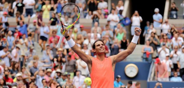 Rafael Nadal en US Open 2018. Foto: zimbio
