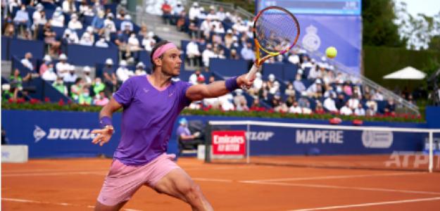 Rafael Nadal, victorias salvando bolas de partido. Foto: gettyimages