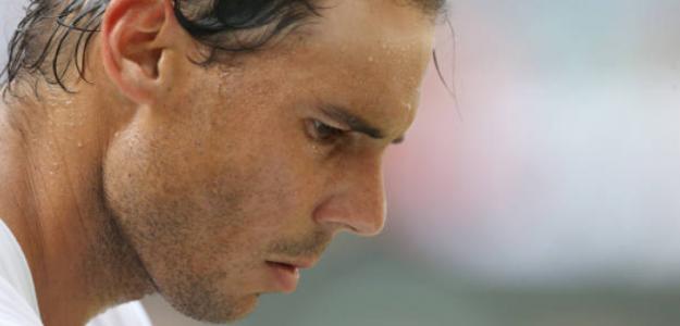 Rafa Nadal habla sobre la velocidad de la hierba en Wimbledon. Foto: Getty