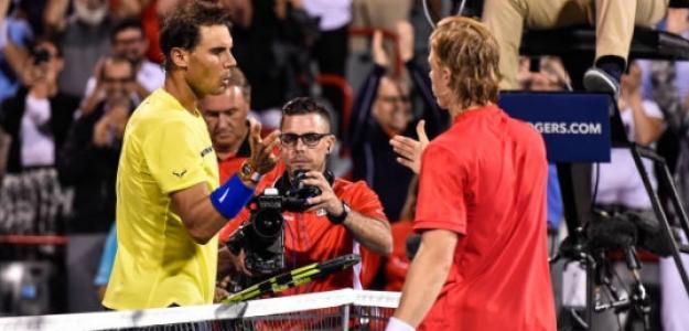 Rafael Nadal en el pasado Masters 1000 de Montreal. Foto: Getty Images