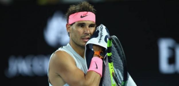 Rafael Nadal en Australia. Foto: Getty Images