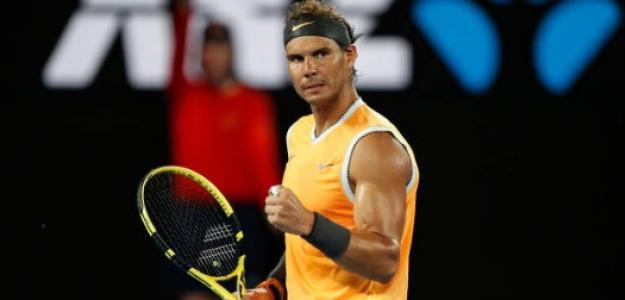 Rafael Nadal en Melboune. Foto: Getty Images