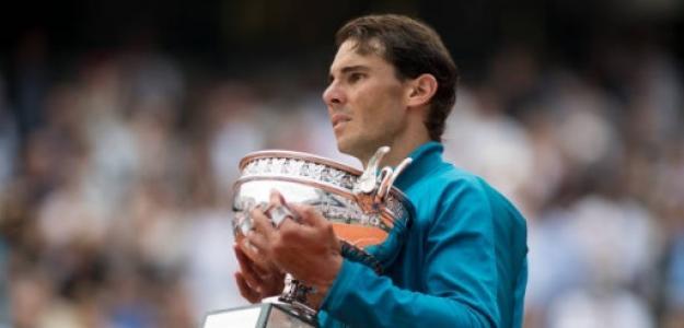 Rafael Nadal en Roland Garros 2018. Foto: Getty Images