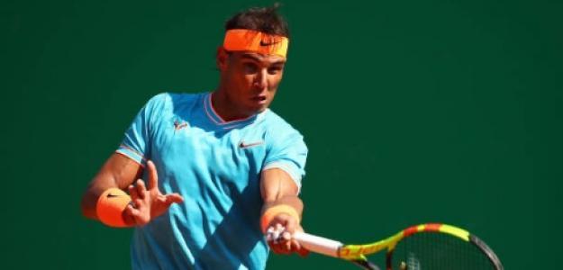 Rafael Nadal en Montecarlo. Foto: Getty Images