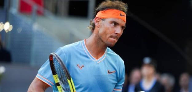 Rafael Nadal en Madrid. Foto: Getty Images