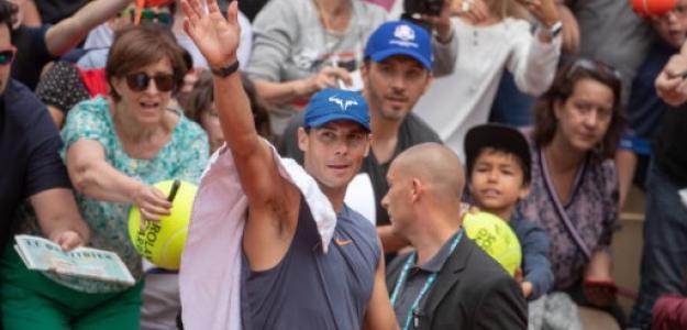 Rafael Nadal en Roland Garros. Foto: Getty Images