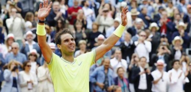 Rafael Nadal en París. Foto: Getty Images