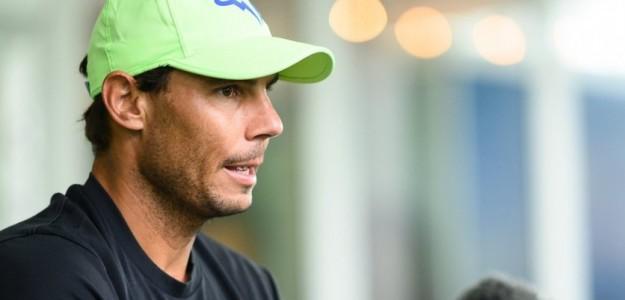 Rafael Nadal en rueda de prensa. Fuente: ATP