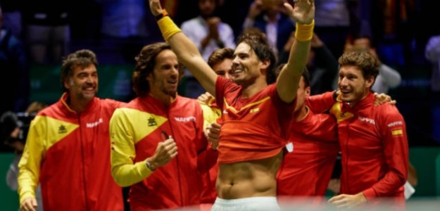 Rafael Nadal en Roland Garros. Foto: zimbio