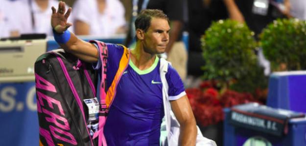 Rafael Nadal, eliminado en Washington. Fuente. Getty
