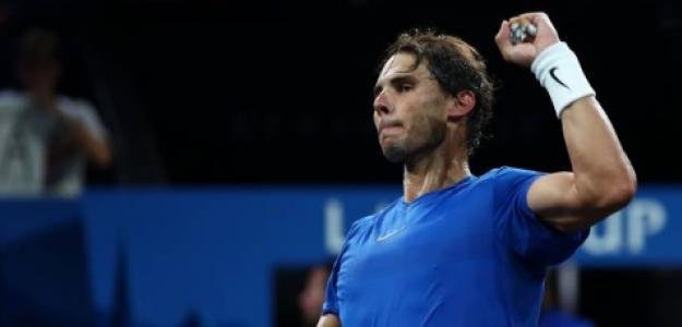 Rafael Nadal en la Laver Cup. Foto: Getty Images