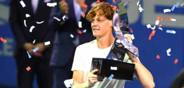 Jannik Sinner, campeón del ATP 500 de Washington 2021. Fuente: ATP