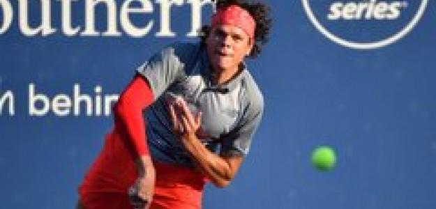 Milos Raonic en el Open de Australia