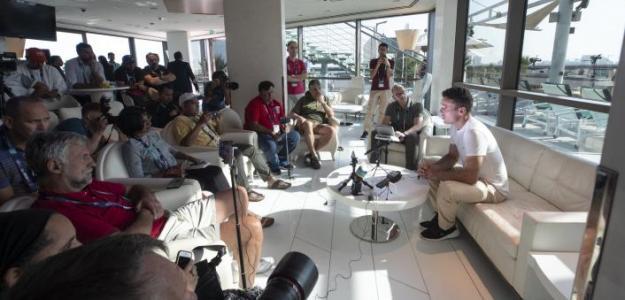Roberto Bautista en el Media Day. Fuente: Dubai Duty Free Tennis