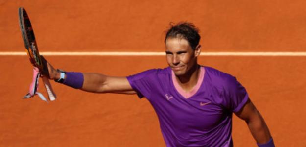 Nadal celebra su debut en Madrid. Fuente: Getty