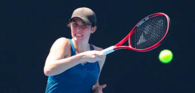 Rebecca Marino en la Qualy del Open de Australia. Fuente: Getty