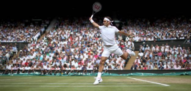 Los récords de Roger Federer sobre hierba. Foto: Getty
