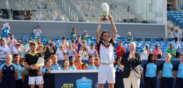 Daniil Medvedev, campeón en Cincinnati 2019. Fuente: Getty