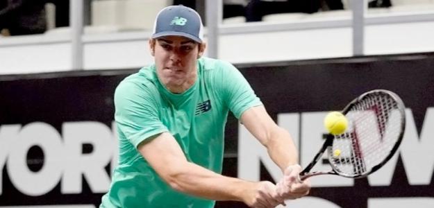 Reilly Opelka en ATP 250 Nueva York 2019. Foto: zimbio