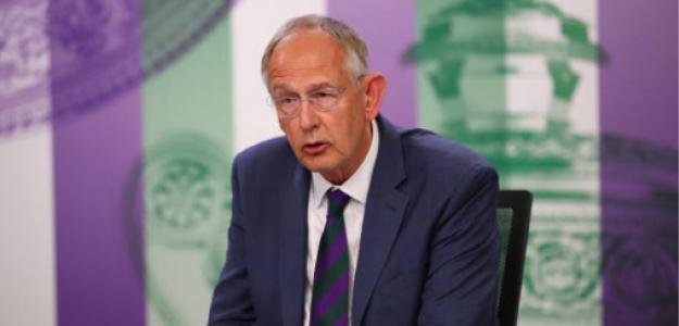 Richard Lewis, presidente ejecutivo de Wimbledon. Foto: gettyimages