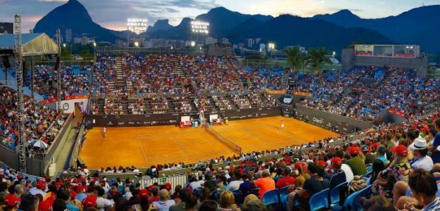 Pista central del torneo de Río de Janeiro. Foto: zimbio