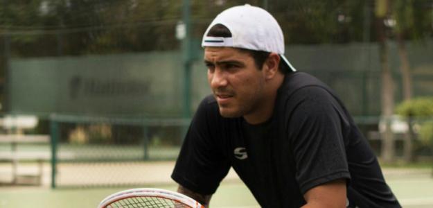 Roberto Maytin durante un entrenamiento.