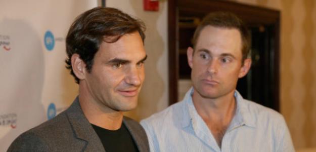 Roddick alaba a Federer en una entrevista. Foto: Getty