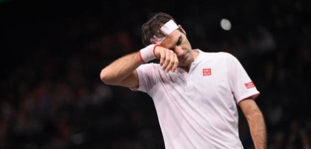 Roger Federer, a las puertas de la final en París. Fuente: Getty