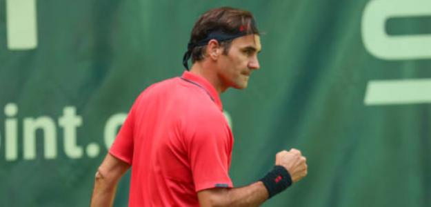 Federer inició su camino en Halle con un triunfo. Foto: Getty