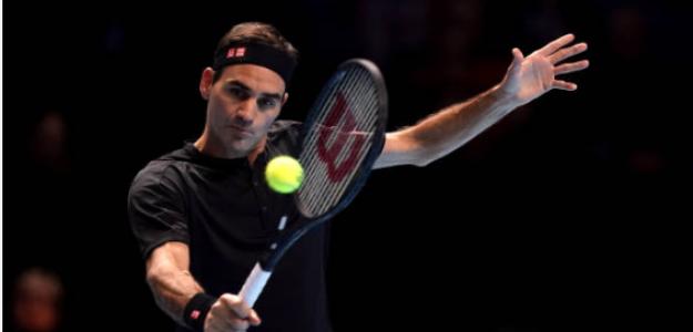 Roger Federer gana a Matteo Berrettini en Nitto ATP Finals 2019. Foto: gettyimages
