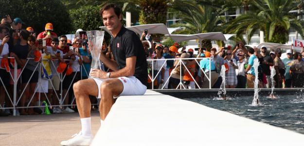 Roger Federer elogia a Bob Bryan. Foto: zimbio