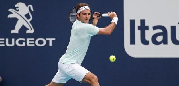Roger Federer, aprovechamiento bolas de break. Foto: zimbio