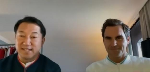 La conversación entre Federer, Kunieda y Reid. Foto: Captura Youtube ITF