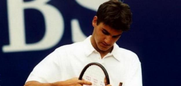 Roger Federer, debut ATP. Foto: gettyimages