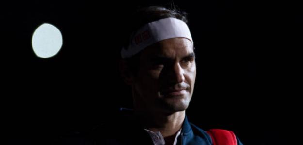 Roger Federer y una entrevista magnífica. Foto: Getty
