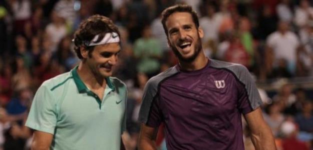Roger Federer y Feliciano López, más de 10 años en top-100