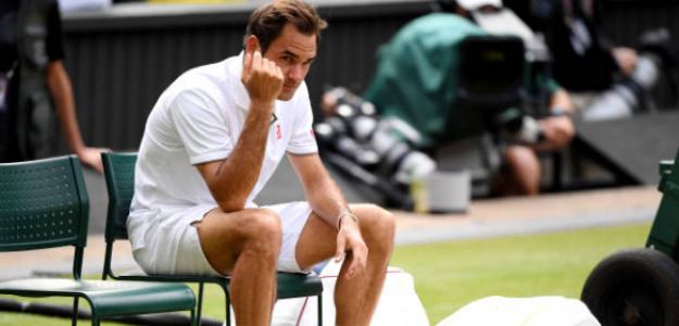 """Roger Federer: """"Ha sido una increíble oportunidad perdida; no puedo creérmelo"""". Foto: Getty"""