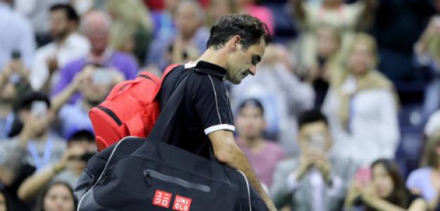 Roger Federer, derrotado en US Open 2019. Foto: gettyimages