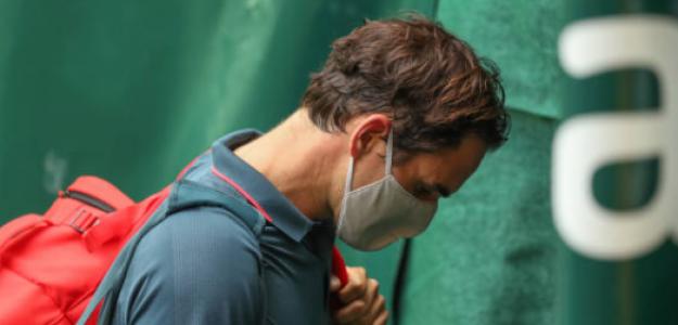 """Federer: """"Me sentí decepcionado con cómo sucedían las cosas"""". Foto: Getty"""