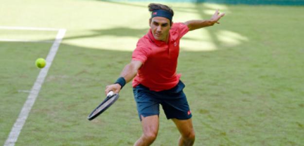 Roger Federer, incógnitas a resolver en hierba. Foto: gettyimages