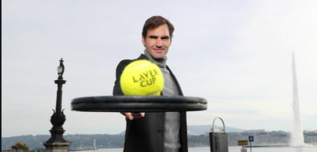 Roger Federer presenta Laver Cup 2019. Foto: lavercup.com