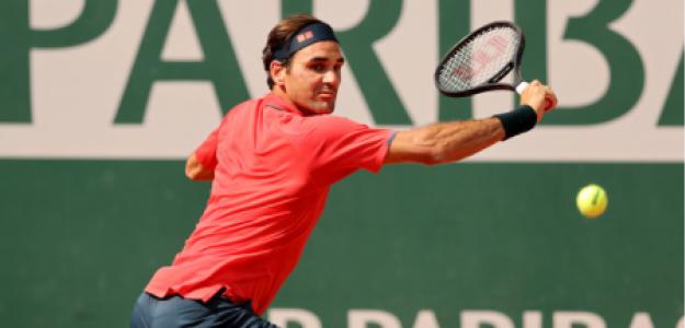 Roger Federer gana a Marin Cilic en Roland Garros 2021. Foto: gettyimages