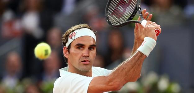 Roger Federer en Mutua Madrid Open 2019. Foto: zimbio