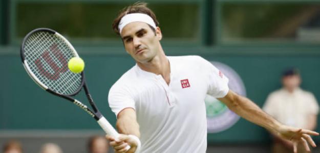 Roger Federer no quiere jugar en estadio vacío y no está entrenando. Foto: gettyimages
